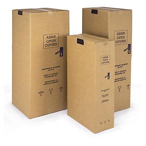 Caja armario para ropa rajapack for Cajas para mudanzas