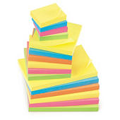 Haftnotizen Post-It  Floral