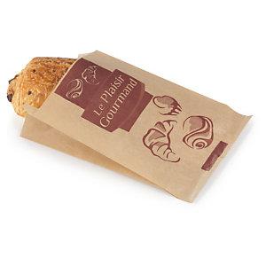 sachet papier brun pour viennoiserie emballages alimentaires raja. Black Bedroom Furniture Sets. Home Design Ideas