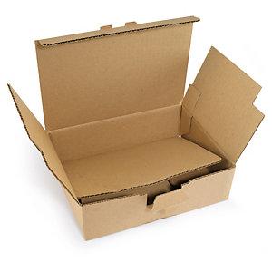 bo te postale renforc e en carton avec fond automatique rajapack. Black Bedroom Furniture Sets. Home Design Ideas