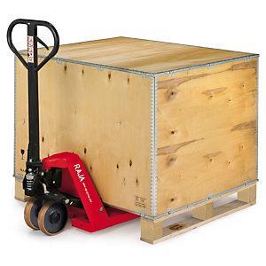 caisse palette bois contreplaqu caisses cartons bo tes raja. Black Bedroom Furniture Sets. Home Design Ideas