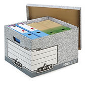 R-KIVE two-piece, cardboard archive boxes
