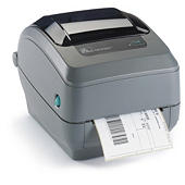 Thermal printer labels for ribbon printers