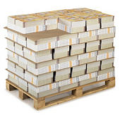 Cardboard interleave sheets for pallets