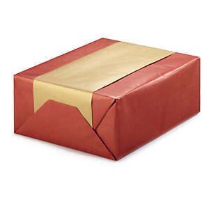 Dual-coloured Kraft paper gift wrap