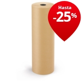 Papel kraft natural en rollo calidad 72 gr/m² RAJAKRAFT Super