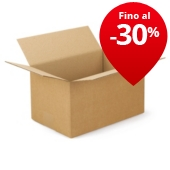 Scatole cartone un'onda RAJABOX