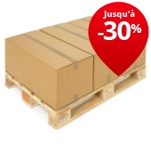 Caisses en carton double cannelure Rajabox de 60 à 80 cm