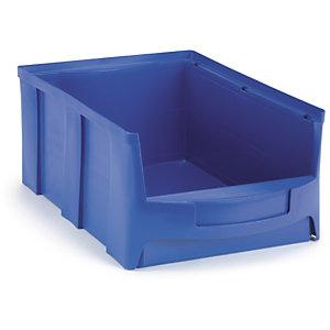 bac bec plastique grande ouverture bleu stockage et manutention raja. Black Bedroom Furniture Sets. Home Design Ideas