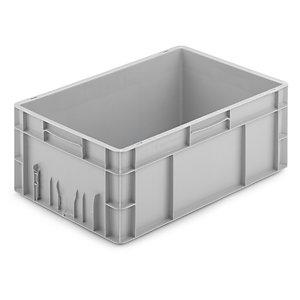 Bac plastique gerbable norme EU SCHOELLER ALLIBERT 600x400x235 mm