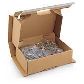 Boîte antichoc avec fermeture adhésive renforcée Quickbox