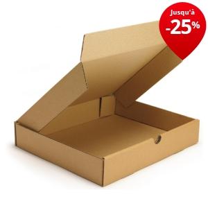 bo te postale carton extra plate brune caisses cartons bo tes raja. Black Bedroom Furniture Sets. Home Design Ideas