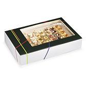 Boîte traiteur Prestige avec fenêtre - couvercle intégré