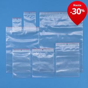 Bolsa de pl stico con cierre zip 60 micras rajagrip super - Bolsas de plastico con cierre ...