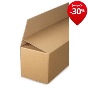 caisse carton longue double cannelure grande ouverture rajabox longueur 100 180 cm caisses. Black Bedroom Furniture Sets. Home Design Ideas