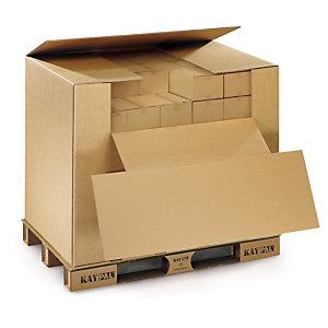 caisse palette carton tout en un pour export air routier rail kaypal caisses cartons. Black Bedroom Furniture Sets. Home Design Ideas