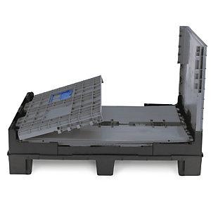 caisse palette plastique pliante h lium schoeller arca systems stockage et manutention raja. Black Bedroom Furniture Sets. Home Design Ideas