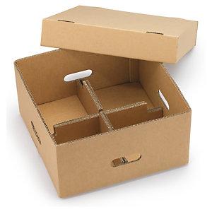 caja para expedici n de frutas y verduras con tapa y