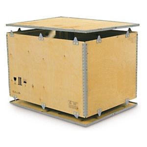 Caja de madera contrachapada rajapack - Madera contrachapada precio ...