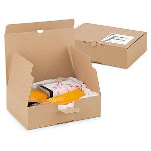 Caja postal con fondo automático