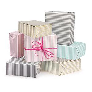 Carta regalo Fantasia a righe bicolore