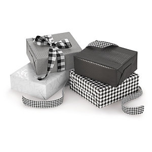 Carta regalo monopatinata fantasia Black & White