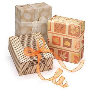 Carta regalo riciclata fantasia Natural