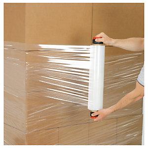 Embout plastique pour bobine de film étirable et préétiré