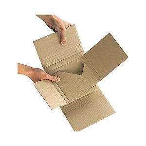 Estuche en cruz para envío CDs y DVDs Mediabox Standard