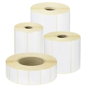 Etiquetas adhesivas para impresión por transferencia térmica