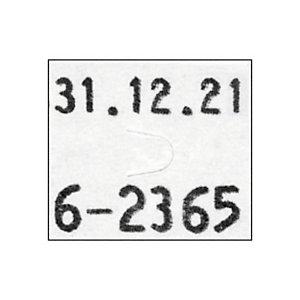 Pince à étiqueter 2 lignes PBDUO16