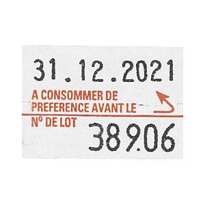 Etiquette en papier 23 x 16 mm pour pince à étiqueter PBDUO20