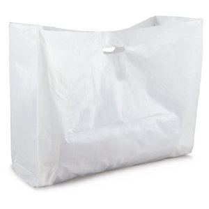 Extra large plastic carrier bags