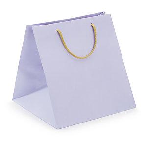 Farbige Kraftpapier-Tragetasche Maxi