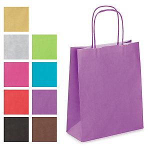 Farbige Papier-Tragetaschen Mini