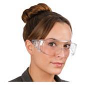 Gafas panorámicas de plástico