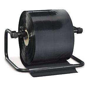 Gaine plastique opaque noire 100 microns