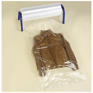 housse plastique pour v tements en rouleau emballage rajapack. Black Bedroom Furniture Sets. Home Design Ideas