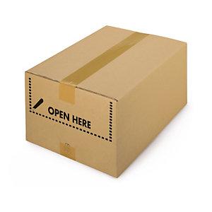 Karton mit Kommissionier-Öffnung