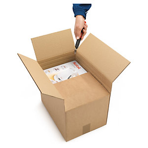 Kartonnen doos met variabele hoogte Variabox Eco