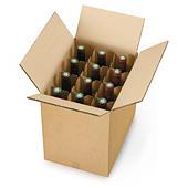 Kartony z przegrodami do transportu wina