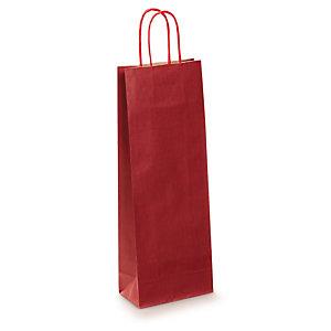 twisted handle kraft paper bottle bags rajapack. Black Bedroom Furniture Sets. Home Design Ideas