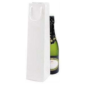 Lackpapier-Tragetaschen für Flaschen