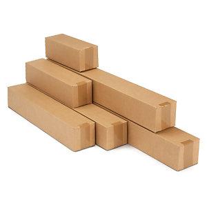 Lange Kartons mit Automatikboden