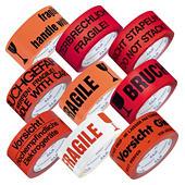 Low-noise PP Warnband mit Standardaufdruck