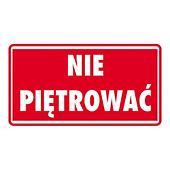 """Ostrzegawcze etykiety na paczki """"PALETOWE"""""""