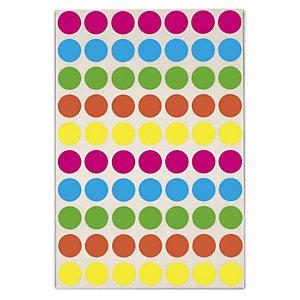 Pastille de couleurs assorties adh sif amovible en planche - Planche de couleur ...