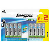 Pilas alcalinas High Tech Energizer