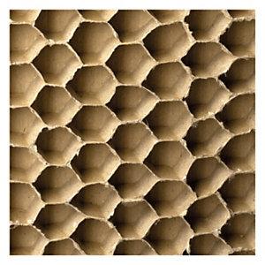 Plancha separadora de cartón de nido abeja