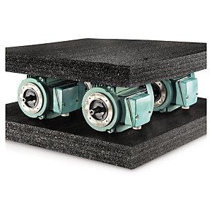 Plaque mousse polyéthylène noire haute densité